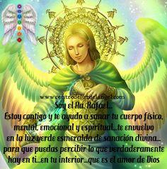 ✨✨ #Mensaje del #ArcángelRafael: Querido amado...estoy contigo y te ayudo a sanar tu cuerpo físico, mental, emocional y espiritual...te envuelvo en la luz verde esmeralda de sanación divina...para que puedas percibir lo que verdaderamente hay en ti...en tu interior...que es el amor profundo y radiante de Dios ✨✨ #Arcángel #Rafael #MeAyuda #EstáConmigo #MeSana #MeEnvuelve #LuzVerdeEsmeralda #SanaciónDivina #PerciboMiInterior #AmorDeDios #Gracias ✨ Visita nuestra página: www.centrod