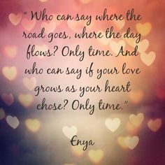 Only Time by Enya. Walked down the aisle to this. <3