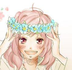 Image about girl in Anime by ♡ Mimi Heartωhite ♡ Futaba Yoshioka, Futaba Y Kou, Manga Anime Girl, Anime Art, Anime Girls, Kuroko, Dandere Anime, Sailor Moon, Boruto
