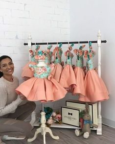 Tag a mom who's been eyeing this dress for her princess! Leila Dress in In stock and ready to ship Click the link in bio to shop Worldwide Delivery ittybittytoes