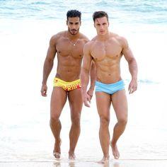 Male models  MARIO BECKMAN E ED GARCEA - SUNGAS CA-RIO-CA