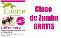 Envite. Centro de Mantenimiento Físico: ¡Clase de Zumba Gratis! http://www.castellom.com/ver_entrada/9.html