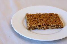 Crunchy Peanut Butter Granola Bars  from the America's Test Kitchen Healthy Family Cookbook