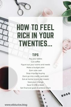 Here's my tips on how to feel rich in your twenties ! My go to money saving hacks !! #save #moneysaver #rich #moneyhacks