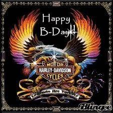 Free Harley Davidson E Cards | harley birthday blingee tags fireworks harley birthday sparkles
