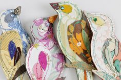Wallpaper Brooches by Claire Coles Design