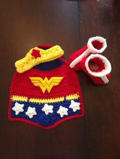 Wonder Woman new born photography prop by LilysHope on Etsy, $30.00