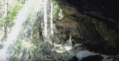 """1. <a href=""""http://www.onlyinyourstate.com/south-carolina/walk-behind-waterfall-in-sc/"""" target=""""_blank"""">A Walk-behind Waterfall</a>"""