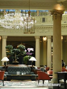 Westin Palace Hotel – Madrid | A Dash Of Luxury