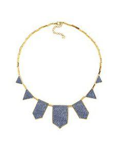 blue-star-five-station-necklace on Lulu & Lemons