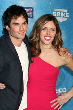 Ian Somerhalder and Kayla Ewell Photo - Guests Arriving At Spike TV's 2009 Scream Awards