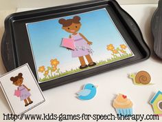 spring speech therapy activities from teachingtalking.com