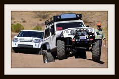 Off-road course at the 2011 Overland Expo.