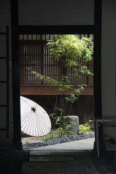 Japanese residence in Osaka, Japan