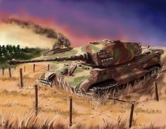 German heavy tank Tiger 2 by Nakamoora on DeviantArt