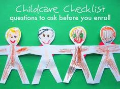 Childcare Checklist For Every Parents