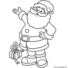 christmas s printable santa coloring pages printable and coloring book to print for free. Find more coloring pages online for kids and adults of christmas s printable santa coloring pages to print. Online Coloring Pages, Cartoon Coloring Pages, Coloring Pages To Print, Coloring For Kids, Coloring Pages For Kids, Coloring Books, Snowman Coloring Pages, Christmas Coloring Sheets, Printable Christmas Coloring Pages