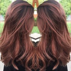 Hair Color Commitment-Phobes Will Obsess Over the Rose Gold Ombré Trend