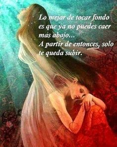 Spanish Inspirational Quotes, Spanish Quotes, Truth Quotes, Me Quotes, Positive Thoughts, Positive Quotes, Gods Love Quotes, Spiritual Messages, Motivational Phrases