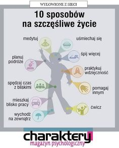 Szczęście Self Development, Personal Development, Mind Over Body, Life Guide, School Subjects, Coping Skills, Study Motivation, Life Inspiration, Better Life