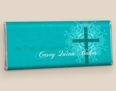 Hersheys First Communion Party Favors: Shining Day Candy Bars