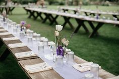 long farm tables //