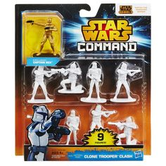 Amazon.com: Star Wars Command Clone Trooper Clash Pack: Toys & Games