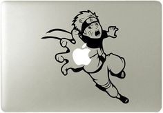 Naruto Catching Apple with Hand - Apple Macbook Laptop Vinyl Sticker Decal Kakashi, Anime Naruto, Naruto Shippuden, Boruto, Mac Stickers, Apple Stickers, Macbook Decal, Laptop Decal, Macbook Laptop