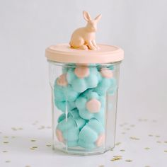 DIY-Chocolate Flowers & Bunny Easter Jar Tutorial