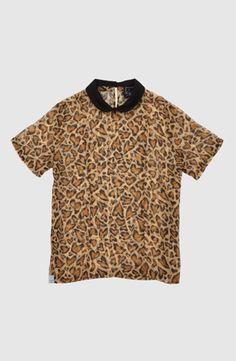 Leovepard Top, Drop Dead Clothing