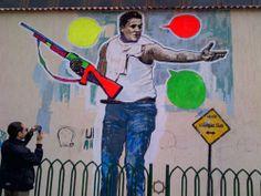 Egyptian artist/activist Abu Bakr