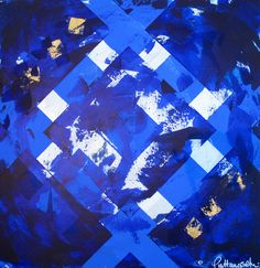 Abstract painting A066  Pia Haugseth