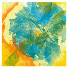 """Multicolor abstract print.   Product: Wall art Construction Material: Canvas  Dimensions: 16"""" H x 16"""" W"""