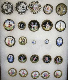 18th century Buttons.