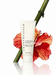 Chantecaille Summer 2013 Bamboo and Hibiscus Exfoliating Cream