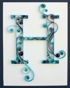 H | #lettering #typography #design