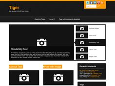 A clean and simple orange/dark grey theme with optional site logo and favicon upload, breadcrumbs, latest posts slider, social networking icon and Google Analytics intergration via the Theme Options. Also includes separate blog and full-width page templates, support for the Wp-PageNavi plugin, threaded comments, post thumbnails, drop down navigation and integrated search.