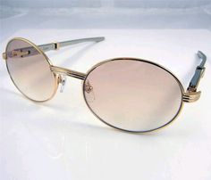 cbfde1083a90 Wholesale Cartier Sunglasses 7550178 Steel Arm In Gold with Brow