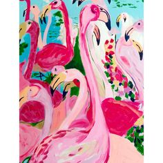 """A new favorite by Megan Carn! Flamingos are all the rage this summer! We are just dying over this new print from Megan Carn. Dimensions:  11"""" x 14"""""""