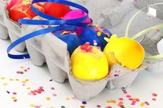 Cascarones (glitter or confetti-filled eggs) are a Mexican Easter tradition that has been growing in popularity in the United States. Learn how to make cascarones and then surprise your friends when you crush them over their heads. Having a cascaron broken over your head is said to bring good luck!
