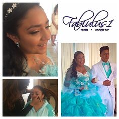 Quinceañera Hair and Make-Up #fabiulus1 #fabiulus1hair #fabiulus1makeup #quinceañerahair #updo #quinceañeramakeup 310.956.5130
