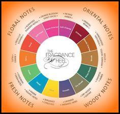 Michael Edwards fragrance wheel clasification