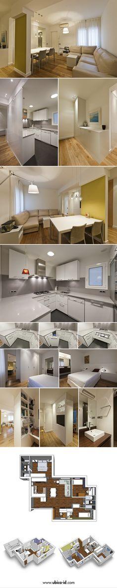 El proyecto de la vivienda ha consistido en adapatar los espacios de un piso…