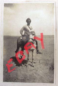 WW1 Indian field hospital I.M.S. Original photo in Palestine  | eBay