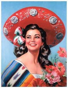 Vintage Mexican PinupArt