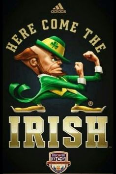 """ND. Like the Irish?  Be sure to check out and """"LIKE"""" my Facebook Page…"""