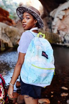 JanSport x FARM backpack collaboration. Our latest collab with Brazilian brand, FARM, captures the colors of Rio. #JanSportxFARM
