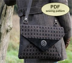 New: Sewing pattern to make the Blakeney Clutch by charliesaunt
