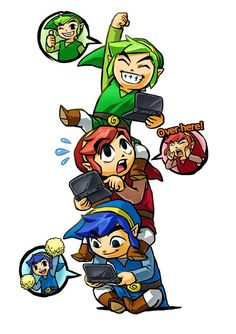 Zelda: Triforce Heroes with Lizzie and Ryan. Con tbd.