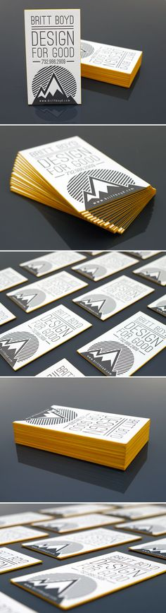 Design For Good Business Card Inspiration